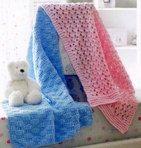 James C. Brett Patterns - Baby & Children Patterns - JB173 - Blankets