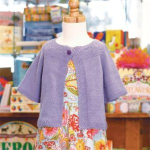 Skacel Collection, Inc. Patterns - Audrey, A Baby Swing Coat