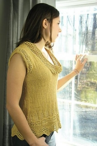 Knit One Crochet Two Cozette On The Rocks Tank Kit - Women's Sleeveless