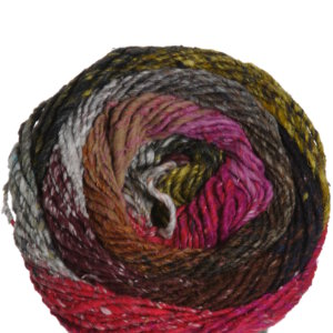 Noro Taiyo Yarn - 55 Tan, Burgundy, Black, Hot Pink