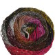 Noro Taiyo - 55 Tan, Burgundy, Black, Hot Pink