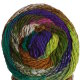 Noro Taiyo - 57 Yellow, Green, Purple, Brown