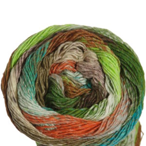 Noro Taiyo Sport Yarn - 03 Peach, Green, Lime, Brown