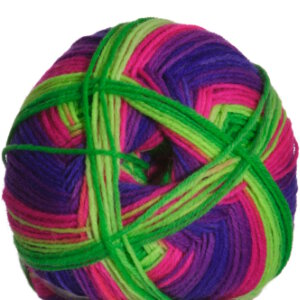 Schachenmayr Regia Fluormania Color Yarn - 7187 Neon Flower