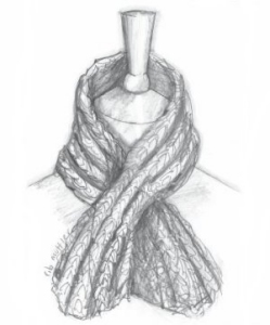 Erika Knight Maxi Wool Rib Muffler Kit - Scarf and Shawls