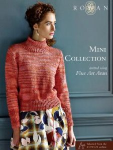 Rowan Pattern Books - Mini Collection - Fine Art Aran