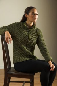 Plymouth Jacket & Cardigan Patterns - 2617 Unisex Cabled Cardigan Pattern