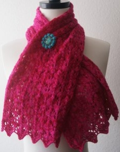 Baah La Jolla Scalloped Scarf Kit - Scarf and Shawls