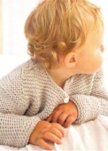 Swans Island Worsted Camden Cardigan Kit - Baby and Kids Cardigans