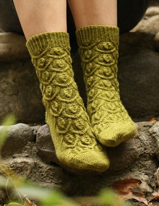 Madelinetosh Sock Ivy Trellis Socks Kit - Socks