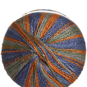 Plymouth Vizions Yarn - 109 Blue/Orange