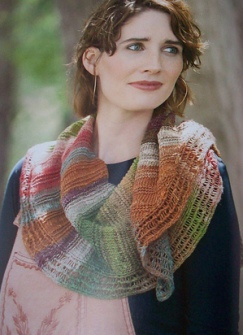 Noro Taiyo Sock Heath Shawl Kit - Scarf and Shawls