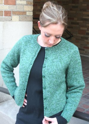 Knitting at Knoon Patterns - Essential Cardigan Pattern