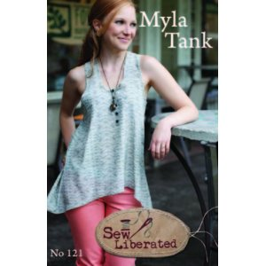 Sew Liberated Sewing Patterns - Myla Tank Pattern