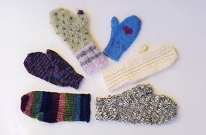 Ann Norling Patterns - 08 - Basic Mittens on 4 Needles Pattern