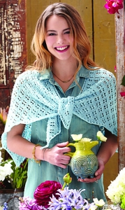 Lorna's Laces Sportmate Eyelet Lace Shawl Kit - Scarf and Shawls