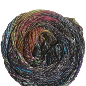 Noro Kibou Yarn - 03 Black, Orange (Discontinued)
