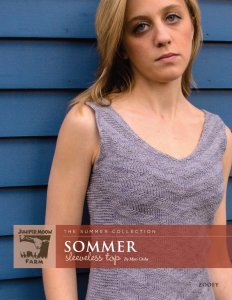 Juniper Moon Farm The Summer Collection Patterns - The Summer Collection: Sommer Sleeveless Top Pattern