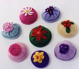 Ann Norling Patterns - 22 - Kids Flower Cap Pattern