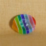 Muench Plastic Buttons - Stripes - Late Summer (13mm/0.5inch)