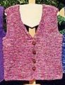 Ann Norling Patterns - 27 - Adult Basic: Knitted Vest
