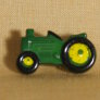 Muench Plastic Buttons - Tractor - Green