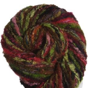 Noro Mossa Yarn - 15 Black, Red, Green, Gold