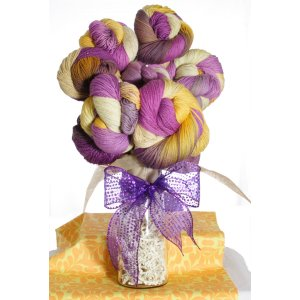 "Jimmy Beans Wool Koigu Yarn Bouquets - '14 March LLE Color ""Bon Temps Rouler"""