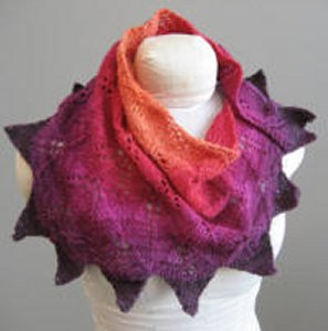 KnitWhits Patterns - Radiance Shawl Pattern