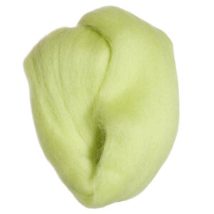 Clover Natural Wool Roving Yarn - Lime