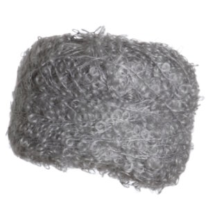 Be Sweet Medium Boucle Yarn - Pale Grey