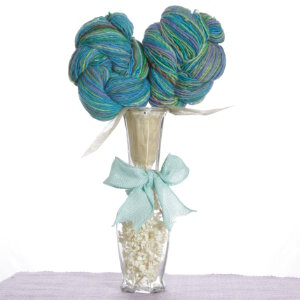 Jimmy Beans Wool Yarn Bouquets - Noro Fingerless Gauntlets Bouquet - Turquoise