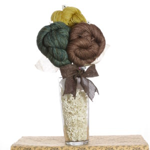Jimmy Beans Wool Koigu Yarn Bouquets - Madelinetosh Tosh Merino Light Bouquet - Jasper