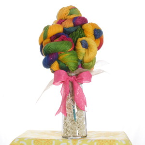 "Jimmy Beans Wool Koigu Yarn Bouquets - '14 July LLE ""Beach Blanket Bingo"""