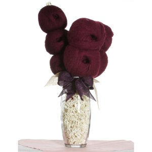 Jimmy Beans Wool Koigu Yarn Bouquets - Filatura Di Crosa Superior & Nirvana Bouquet - Wine