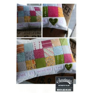 Sweetwater Sewing Patterns - Noteworthy Pillow Pattern