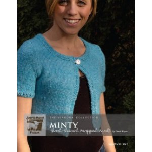 Juniper Moon Farm The Viroqua Collection Patterns - Minty Short-Sleeved Cropped Cardi Pattern