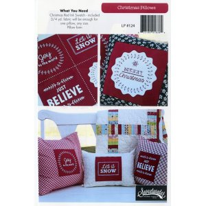 Sweetwater Sewing Patterns - Christmas Pillow Pattern