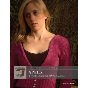 Juniper Moon Farm The Viroqua Collection Patterns - Specs V-Neck Mini Sweater Pattern