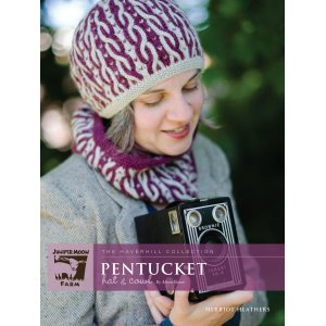 Juniper Moon Farm The Haverhill Collection Patterns - Pentucket Hat & Cowl Pattern