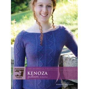 Juniper Moon Farm The Haverhill Collection Patterns - Kenoza Pullover Pattern