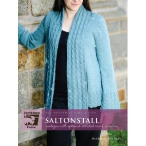 Juniper Moon Farm The Haverhill Collection Patterns - Saltonstall Cardigan Pattern