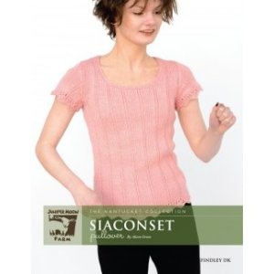 Juniper Moon Farm The Nantucket Collection Patterns - Siaconset Pullover Pattern