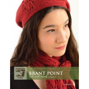 Juniper Moon Farm The Nantucket Collection Patterns - Brant Point Hat & Scarf Pattern