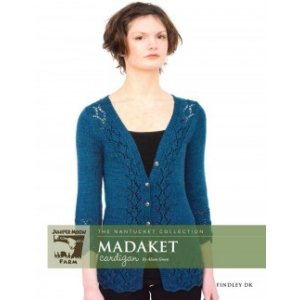 Juniper Moon Farm The Nantucket Collection Patterns - Madaket Cardigan Pattern