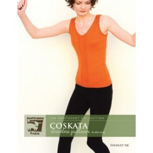 Juniper Moon Farm The Nantucket Collection Patterns - Coskata Sleeveless Pullover Pattern
