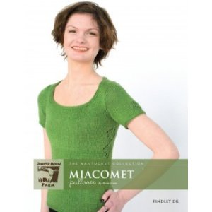 Juniper Moon Farm The Nantucket Collection Patterns - Miacomet Pullover Pattern