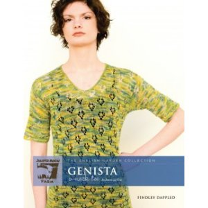 Juniper Moon Farm The English Garden Collection Patterns - Genista V-Neck Tee Pattern