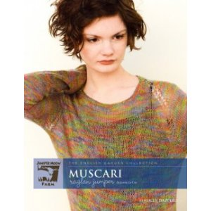 Juniper Moon Farm The English Garden Collection Patterns - Muscari Raglan Jumper Pattern