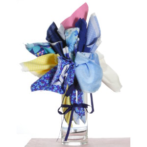 Jimmy Beans Wool Fabric Bouquets - Mother's Day Blues